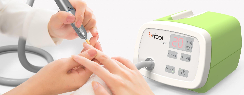 b-on-foot mini - Fräsgerät